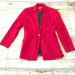 Women's Coldwater Creek red blazer